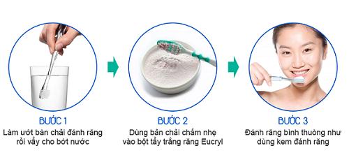 Bột tẩy trắng răng eucryl là gì? Cách sử dụng 2